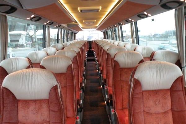 Setra bus seats Latvia