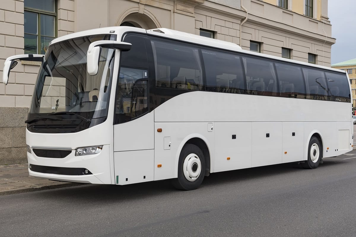 Bus rental services