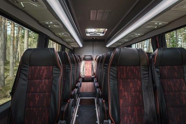 Mercedes sprinter minibus interior